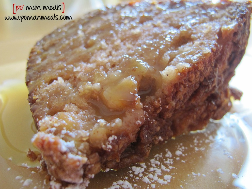 Recipe For Fresh Apple Cake With Caramel Sauce
