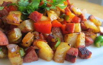 potato sausage hash