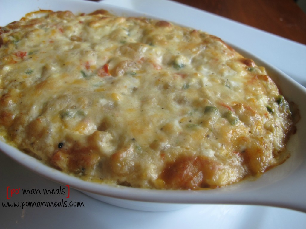 po' man meals - spicy shrimp dip