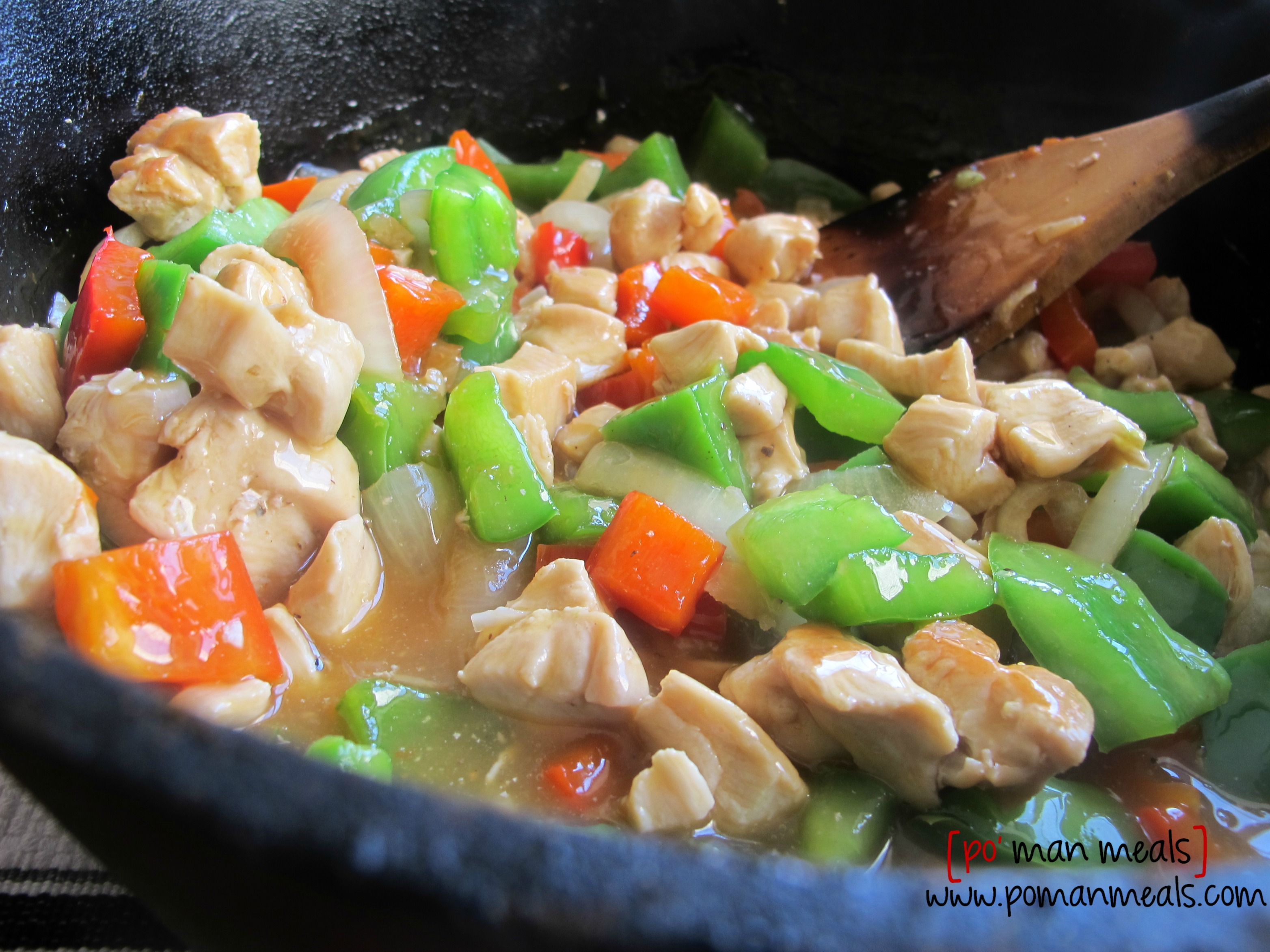 Bell Pepper Chicken Recipe — Dishmaps