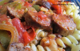 sausage peppers pastawm