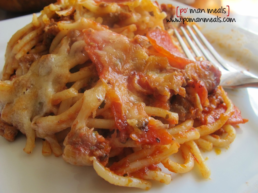 spaghetti bake donewm