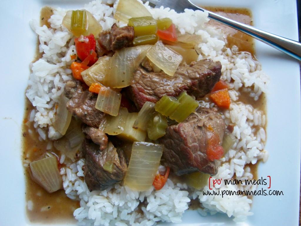 beef stew ricewm