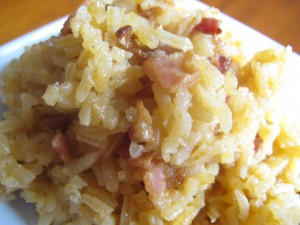 smoky rice