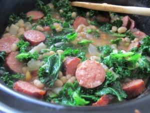 soup w kale